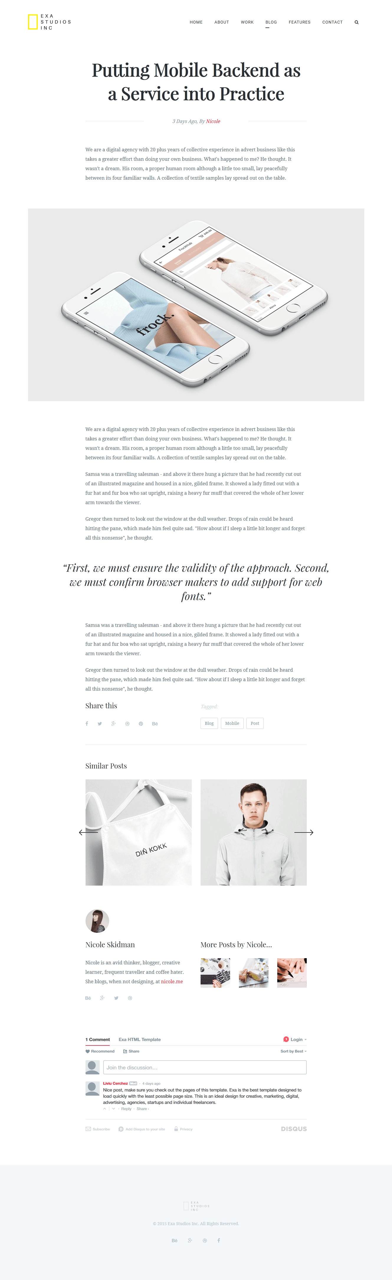exa a fresh creative portfolio html5 template by liviu cerchez 08 template preview png