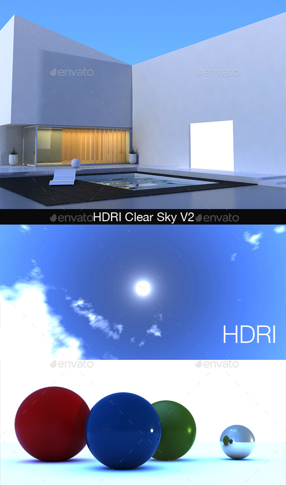 HDRI Clear Sky V2 - 3DOcean Item for Sale