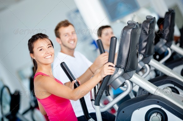 PhotoDune People at the gym 1302088