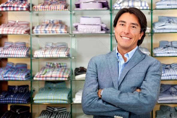 Retail store manager - Stock Photo - Images