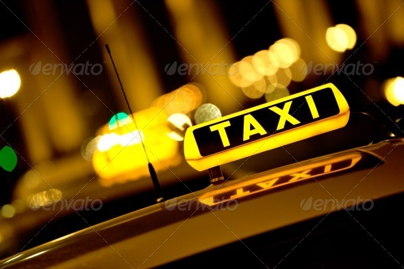 Stock Photo - PhotoDune Taxi sign 1302715