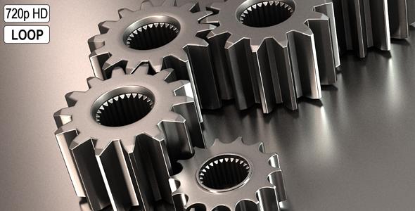 Gears Rotation