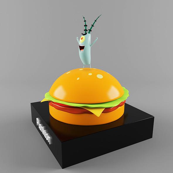 3DOcean Plankton 13009841