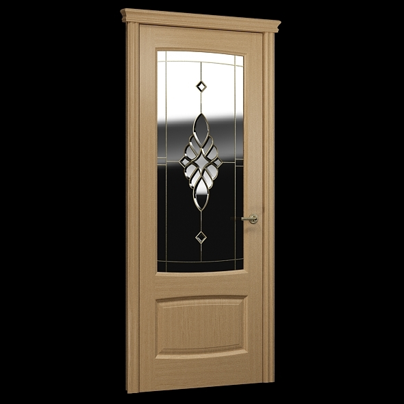 Interior_door_decorative_glass - 3DOcean Item for Sale