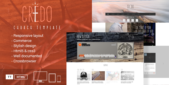 Credo - HTML Church Template