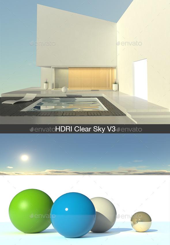 3DOcean HDRI Clear Sky V3 13015477