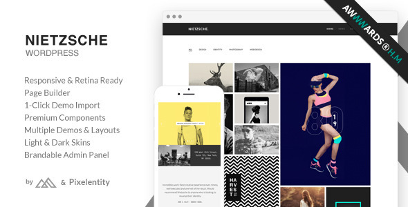 Nietzsche - Creative Multi-Purpose WordPress Theme