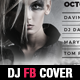 Event Party and Dj Facebook Cover Template