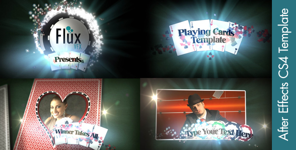 After Effects Project - VideoHive Playing Cards 156654
