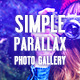 Simple Parallax Photo Gallery