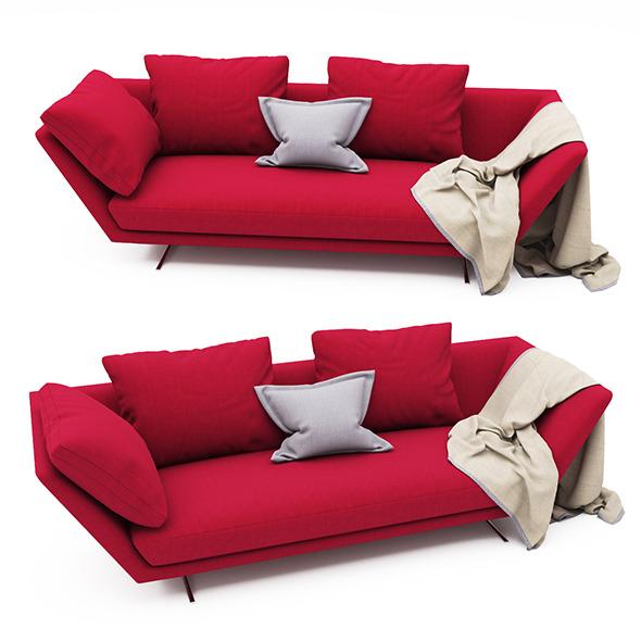 ZEUS Sofa  FLEXFORM  - 3DOcean Item for Sale
