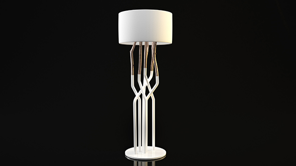 Prodotti Bleu Lamp - 3DOcean Item for Sale