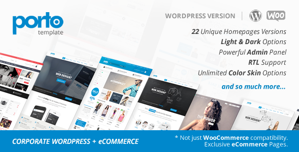Porto v2.5.8 – Responsive WordPress + WooCommerce Theme