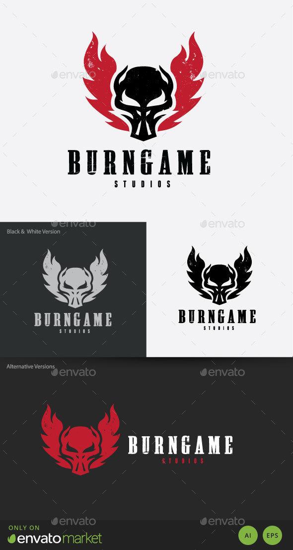 Burn Game Logo