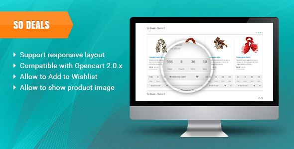 SO Deals - Responsive OpenCart Module