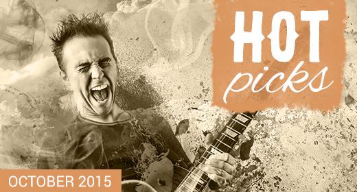 AJ Hot Picks - October 2015