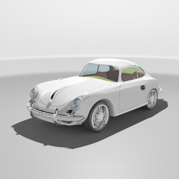 Car Porsche-356-1964  - 3DOcean Item for Sale