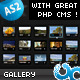 Universal Multimedia Gallery with Admin AS2