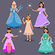 Cute Little Fairies and Princesses