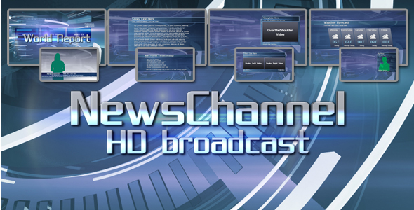 After Effects Project - VideoHive News Package HD Broadcast Design 156857