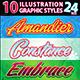 10 Illustrator Graphic Styles Vol.25