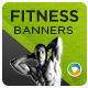 GYM & FITNES HTML5 Banners - GWD - 7 Sizes