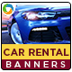 HTML5 Car Rental & Sales Banners - GWD - 7 Sizes
