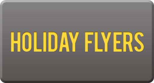 Holiday flyers