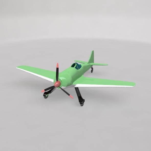 3DOcean Old Plane 13045708