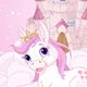 Sky Castle and Unicorn