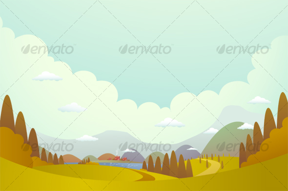 Hill and villages