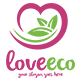 Love Eco Logo Template