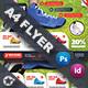 Sport Shoes Flyer Templates