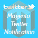 Magento Sales Notification on Twitter - CodeCanyon Item for Sale