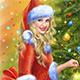 Christmas Santa Woman