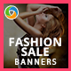 HTML5 Fashion & Retail Banners - GWD - 7 Sizes