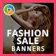 HTML5 Fashion & Retail Banners - GWD - 7 Sizes