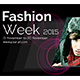 Fashion Week Facebook Cover - Vol 1