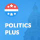 Politics Plus: Government Campaign WordPress Theme