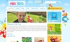 Download website template Kids Toys - WordPress Shop Theme