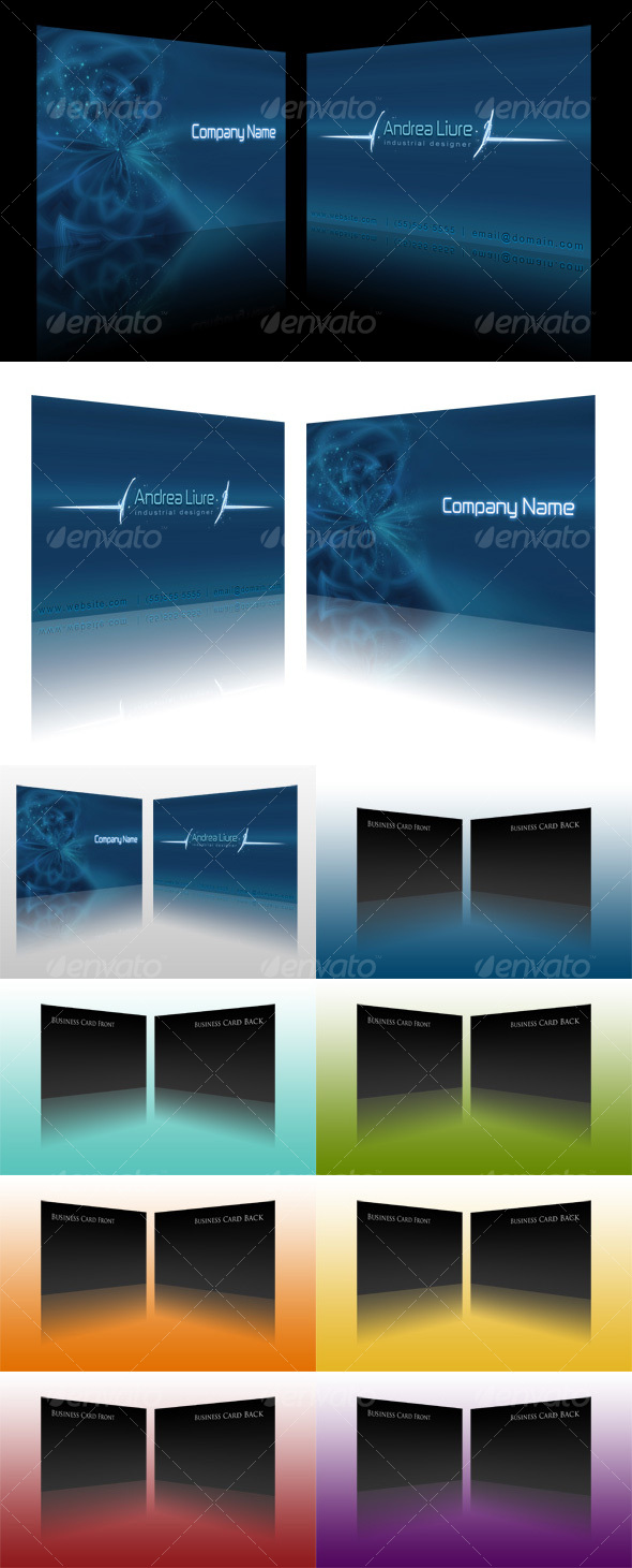 GraphicRiver Business Card Display Actions 35516