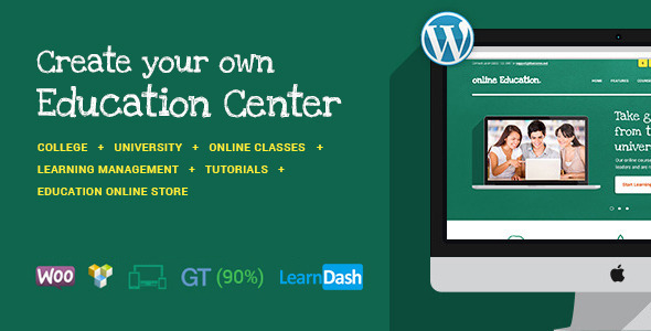 Download Education Center | Training Courses WordPress Theme nulled download
