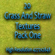 20 Grass And Straw Textures - Pack One  - GraphicRiver Item for Sale