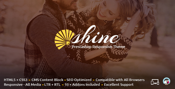 Shine - Prestashop Responsive Theme