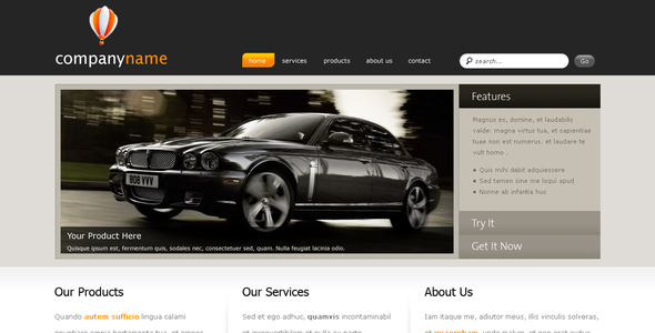 ThemeForest Clean Business 2.0 51677