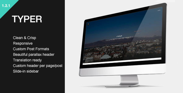 Typer - Striking Blogging Theme
