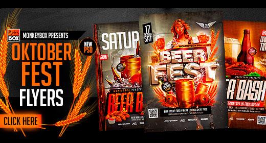 Oktober Festival&Beer Flyers