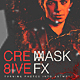 Creative Shatter Photoshop Mask FX