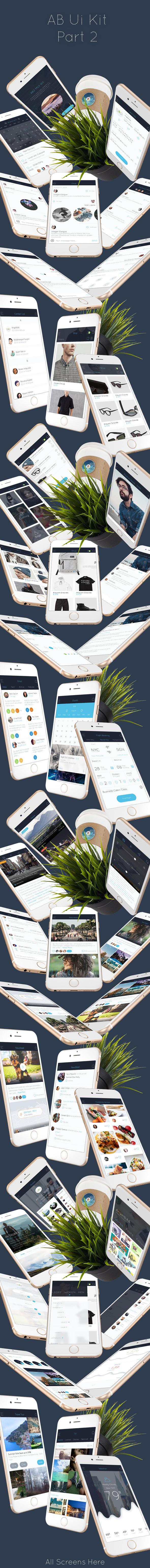 AB Part 2 - Mobile UI Kit - 1