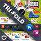 Sport Shoes Tri-Fold Templates